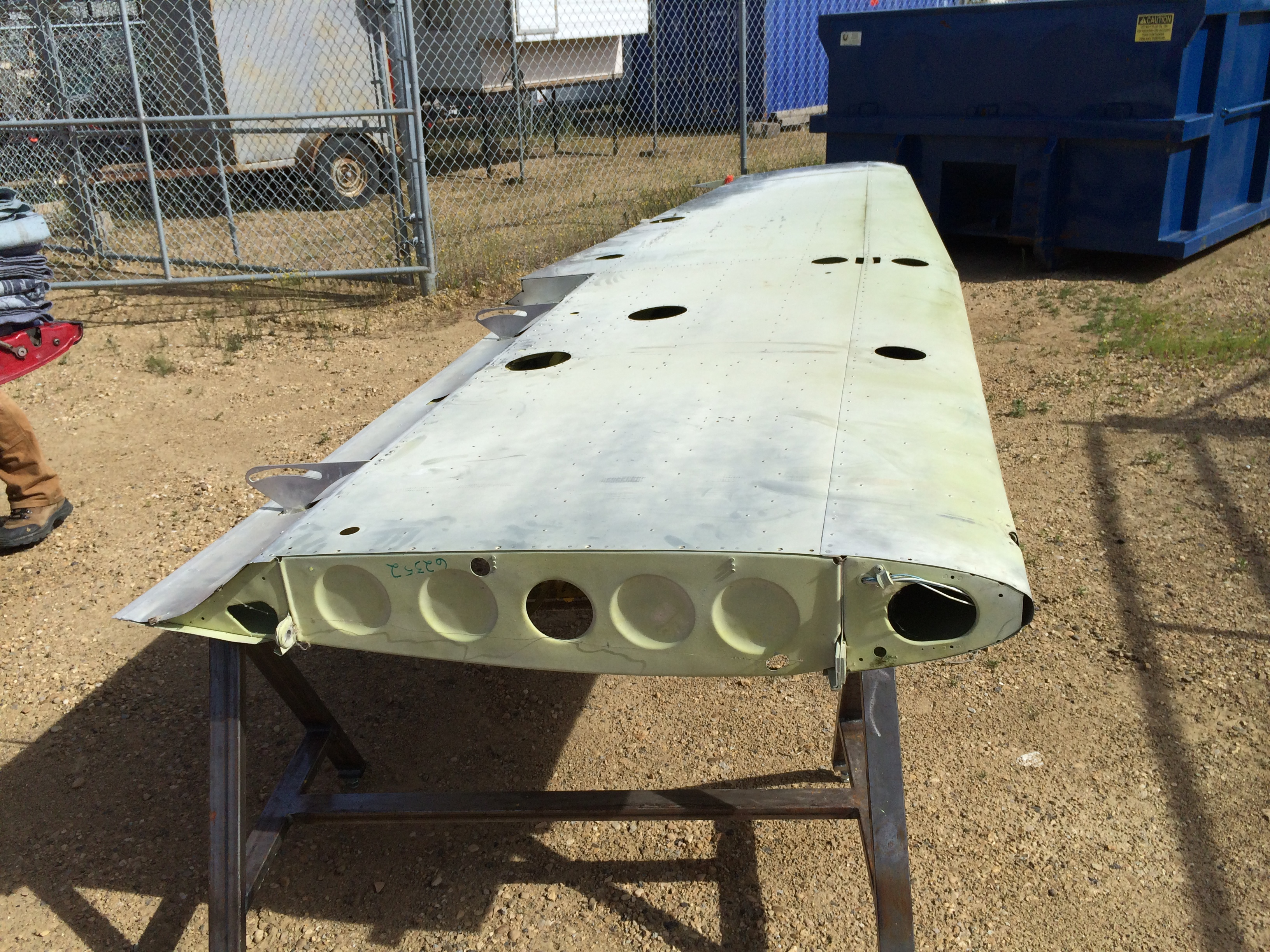 1968 Cessna 172 Wing